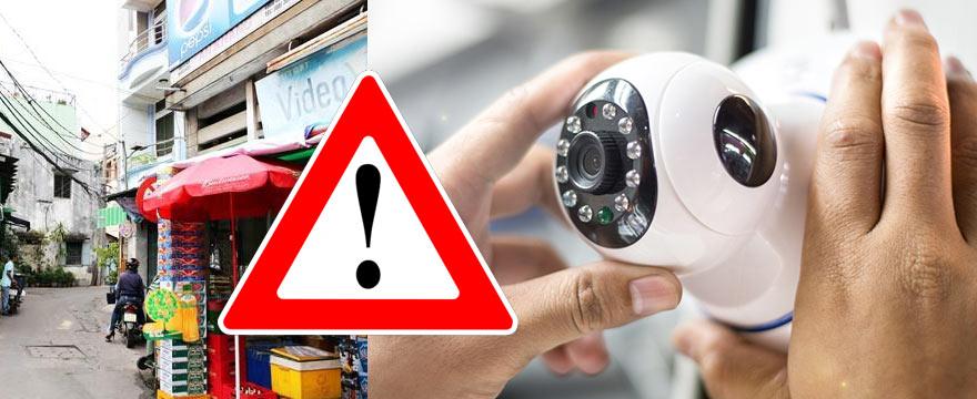 Lắp đặt camera giá rẻ TPHCM