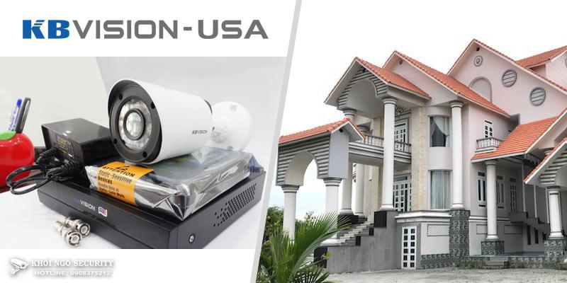 Lắp hệ thống camera quan sát IP KBVision cho gia đình Quận 11