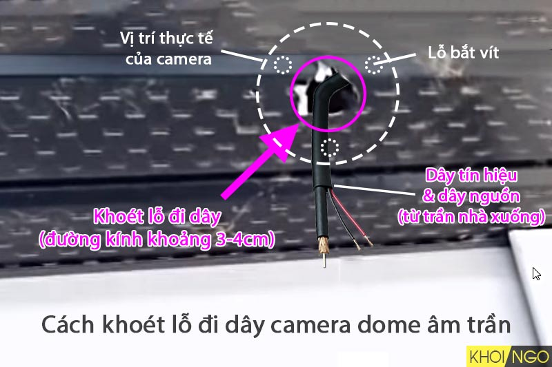 cach-khoet-lo-am-tran-di-day-camera-dome