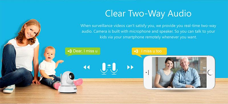 Tính năng đàm thoại 2 chiều camera là gì