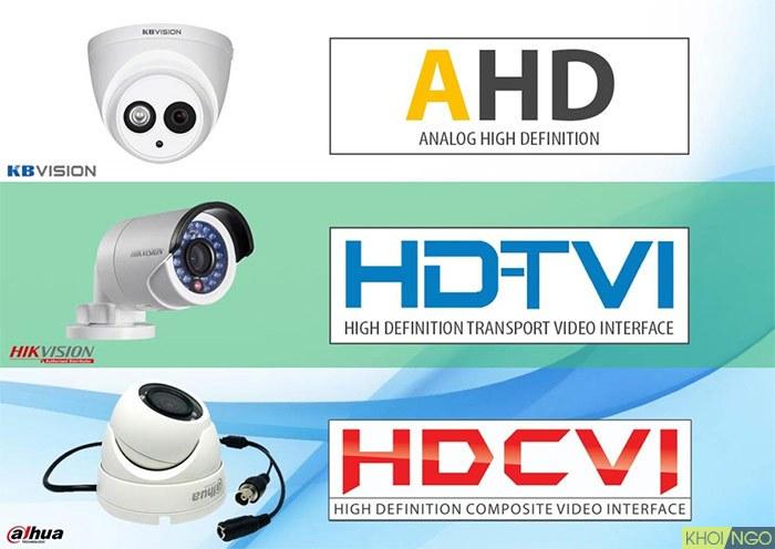 Công nghệ AHD HD-TVI HD-CVI là gì