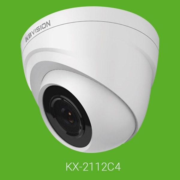 Camera KBVision KX-2112C4 Full HD 1920x1080p Analog AHD HD-TVI HD-CVI Dome