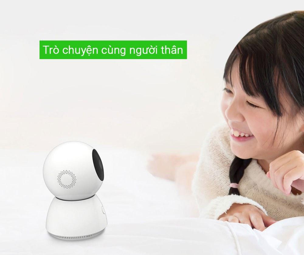 Camera đàm thoại 2 chiều wifi gia đình Xiaobai Mijia Full HD 360 Xiaomi