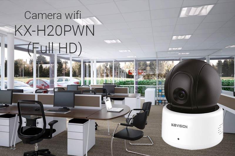 Camera wifi Full HD KBVision KX-H20PWN cho gia đình văn phòng shop