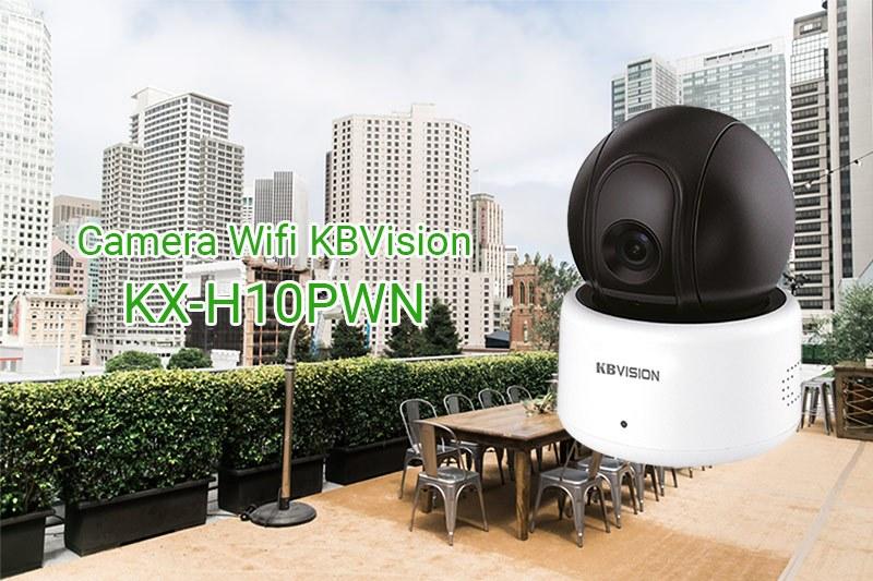 Camera ip wifi KBVision KX-H10PWN cho gia đình cửa hàng quán cafe