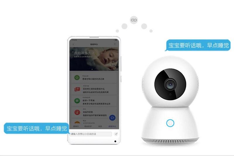 Camera wifi gia đình MiJia XiaoBai 360 Full HD 1920x1080 PTZ Robot