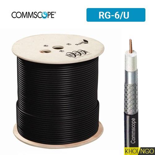 Cáp đồng trục CommScope RG-6U loại nào tốt