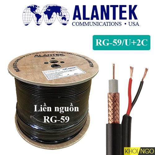 Cáp đồng trục liền nguồn Alantek RG-59U loại nào tốt