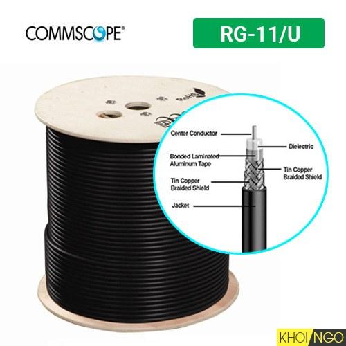 Cáp đồng trục loại nào tốt Commscope RG-11U