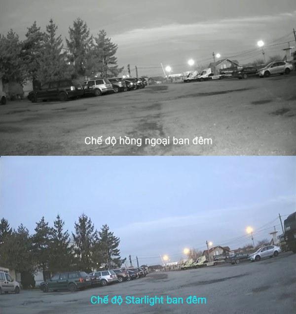 Công nghệ Starlight trên camera là gì