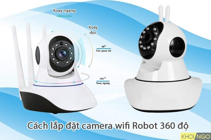 cach-tu-lap-camera-khong-day-wifi-Robot-tai-nha