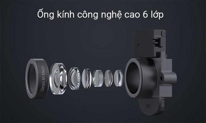 Ong kinh camera wifi Mijia Xiaobai Full HD 1080p PTZ 360 do cao cap cho gia dinh Khoi Ngo Khoingo.net