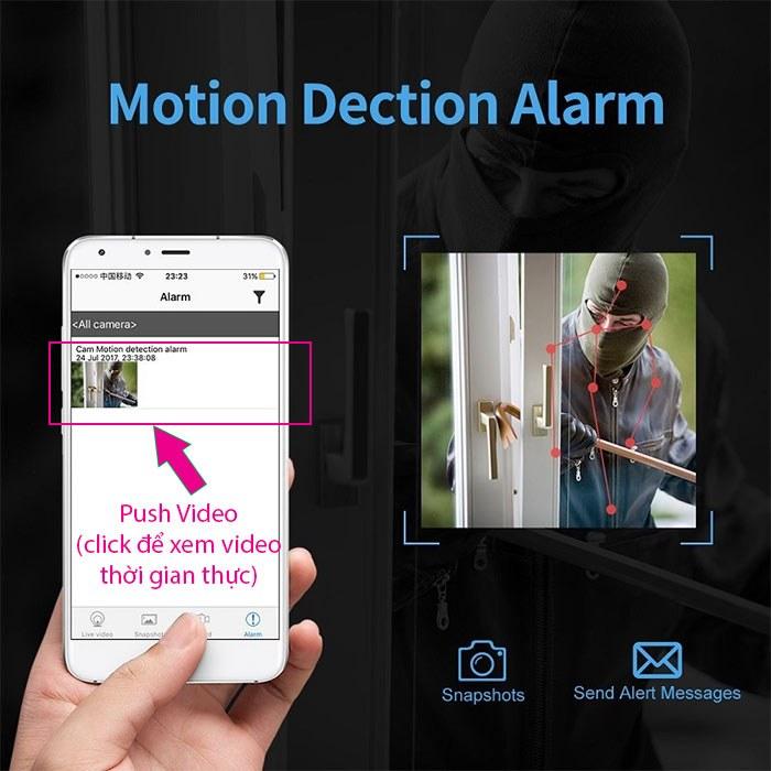 Báo động Push Video trên camera là gì