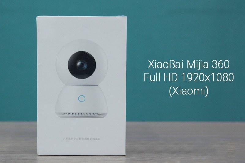 Tron bo camera ip wifi XiaoBai MiJia Robot 360 do Full HD 1080p cho gia dinh Khoi Ngo Khoingo.net