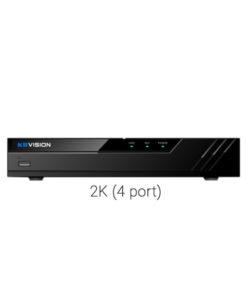 Đầu ghi KBVision KX-8104H1 4 kênh analog + 2 IP