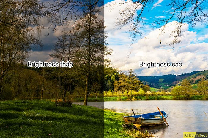 Độ sáng Brightness là gì cctv