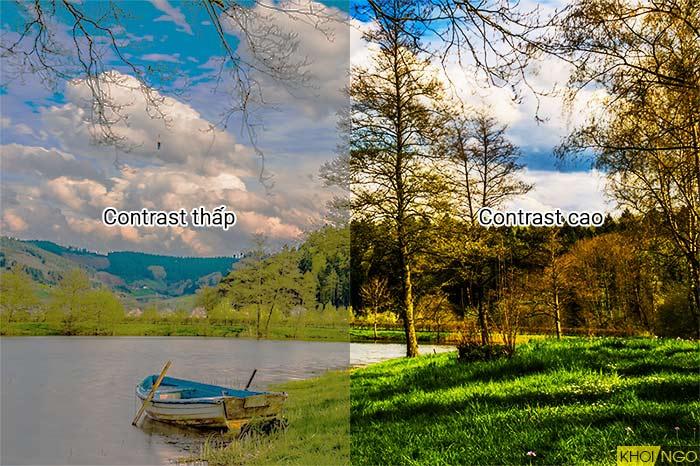 Độ tương phản contrast là gì