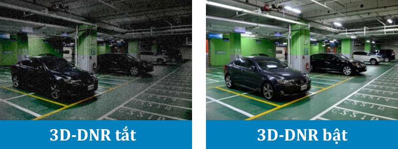 Đánh giá công nghệ giảm nhiễu không gian 3D Dynamic Noise Reduction