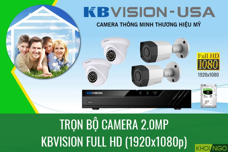 Bang gia lap dat camera tron goi Full HD 1080p 2.0 MP gia re