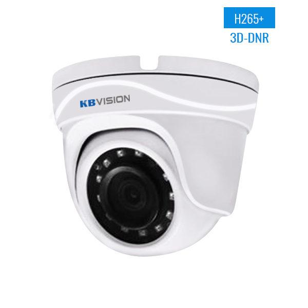 Camera IP KBVision KX-2012N2 Full HD 3D-DNR Led SMD PoE Panasonic chipset