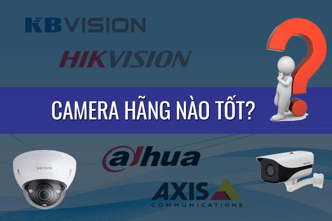 Camera hãng nào tốt và uy tín nhất hiện nay