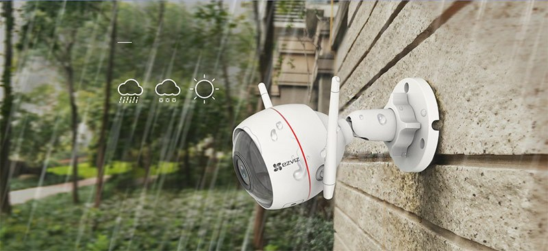 Đánh giá camera ip wifi Ezviz Husky Air Full HD C3W-1080p