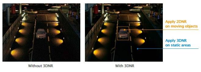 Sự khác nhau giữa giảm nhiễu 2D DNR và 3D DNR như thế nào