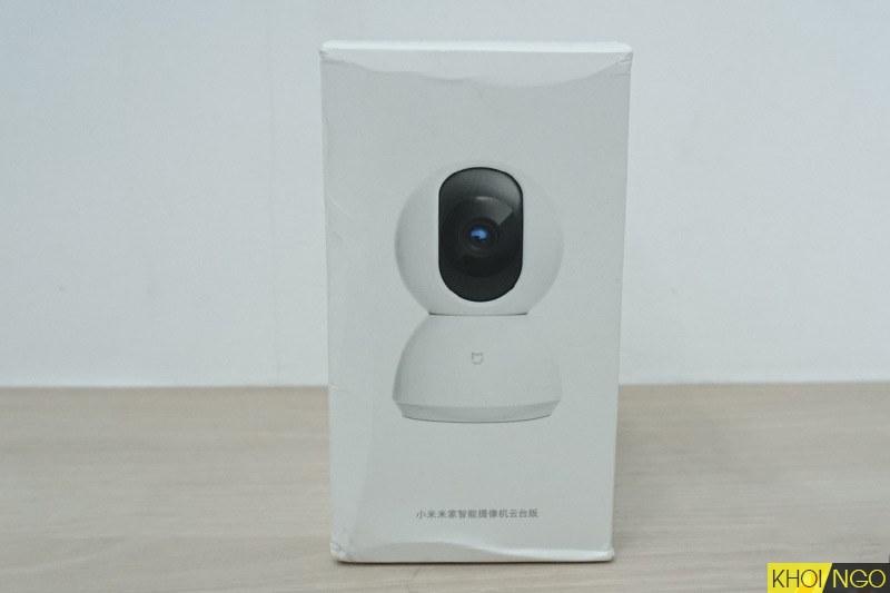 Đánh giá bộ Camera Xiaomi ip wifi Mijia PTZ 360 Robot Full HD 1080
