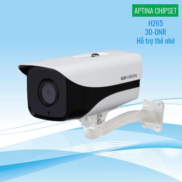 Đánh giá Camera IP KBVision KX-2003N2 2MP H265 3D-DNR có tốt không