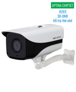 Camera IP KBVision KX-2003N2 Full HD 2MP H265 3D-DNR MicroSD APTINA Chipset