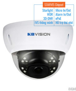 Camera-IP-KBVision-KX-2004iAN-Full-HD-2MP-Starlight-WDR-3D-DNR-Smart-IR-STARVIS-Chipset