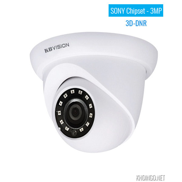Camera IP KBVision KX-3002N 3MP Sony Chipset