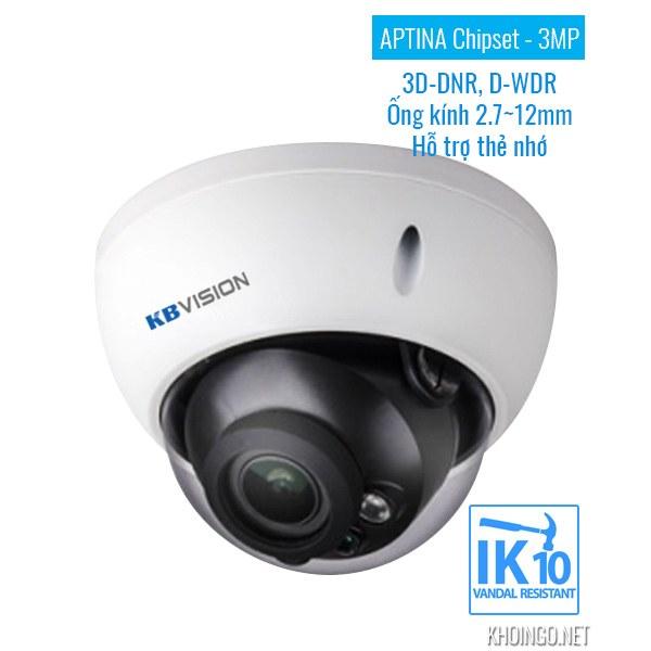 Tinh nang ky thuat Camera IP KBVision KX-3004AN