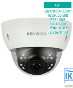 Camera IP KBVision KX-4002iAN 4MP