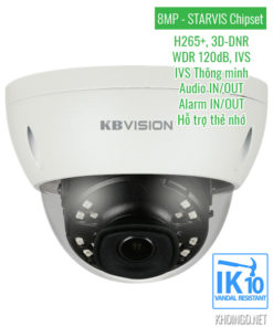 Camera IP KBVision KX-8002iN 8MP