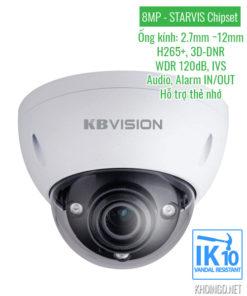 Camera IP KBVision KX-8004iMN 8MP