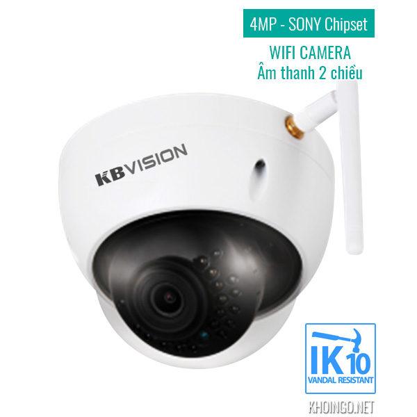 Camera IP Wifi KBVision KX-4002WAN 4MP
