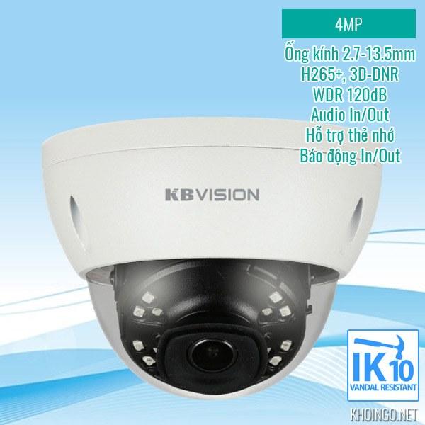 Có nên mua camera IP KBVision KX-4002iAN 4MP không