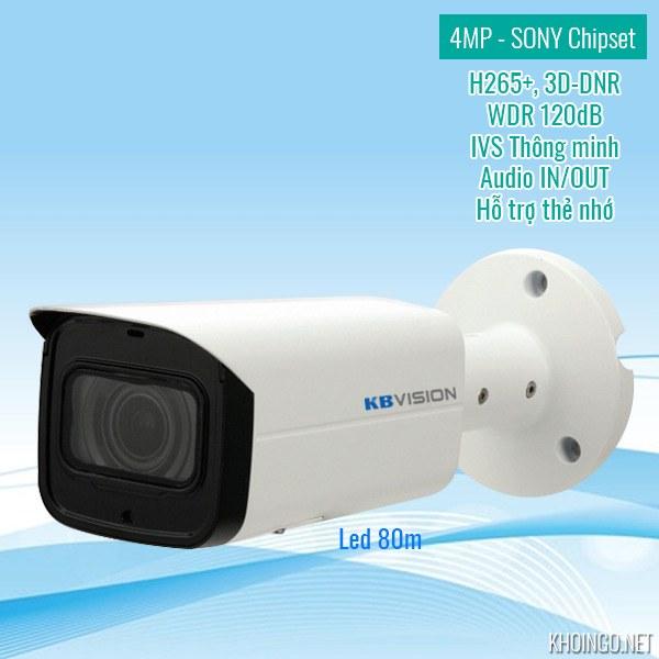 Đánh giá camera IP KBVision KX-4003iN 4MP có tốt không