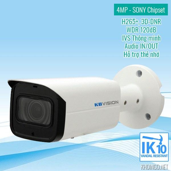 Đánh giá camera IP KBVision KX-4005N2 4.0MP có tốt không