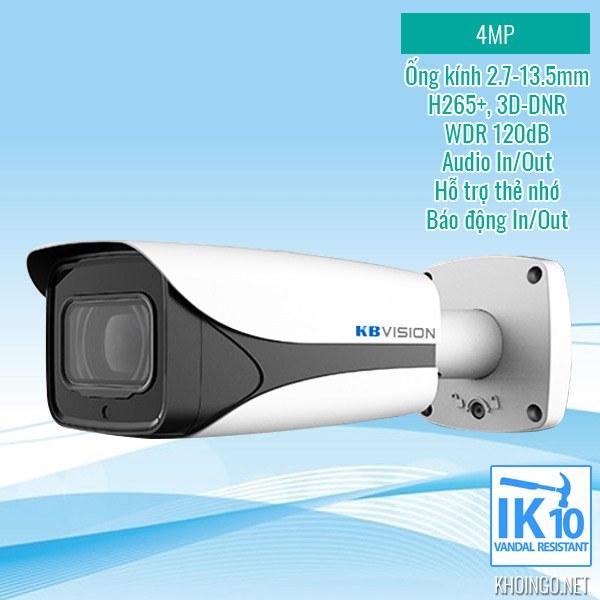 So sánh, đánh giá Camera IP KBVision KX-4005iMN 4MP có tốt không