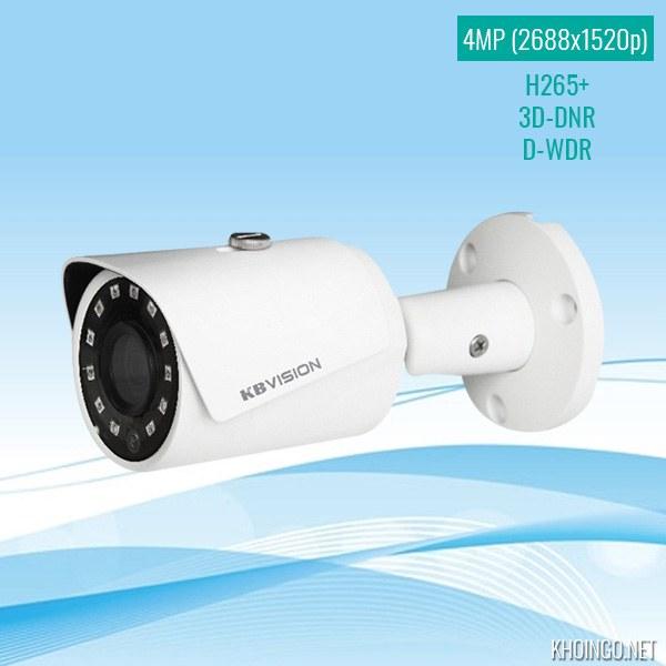 Đánh giá Camera IP KBVision KX-4011N2 4MP có tốt không