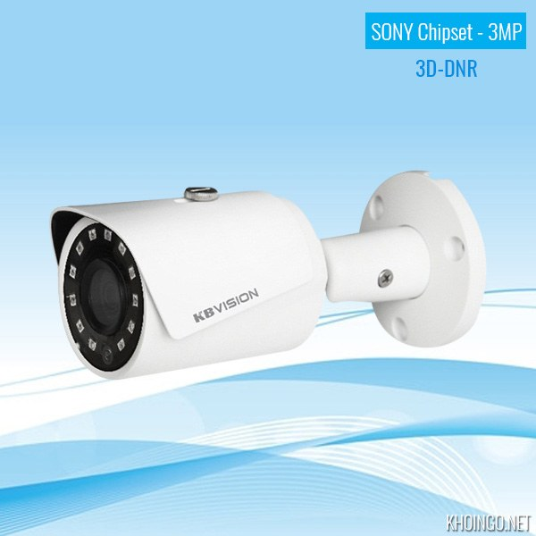 Đánh giá Camera IP KBVision KX-3001N 3MP có tốt không