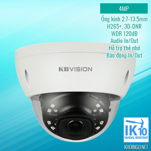 Gioi-thieu-Camera-IP-KBVision-KX-4002iAN-4MP-H265-WDR-3D-DNR-Bao-dong-MicroSD