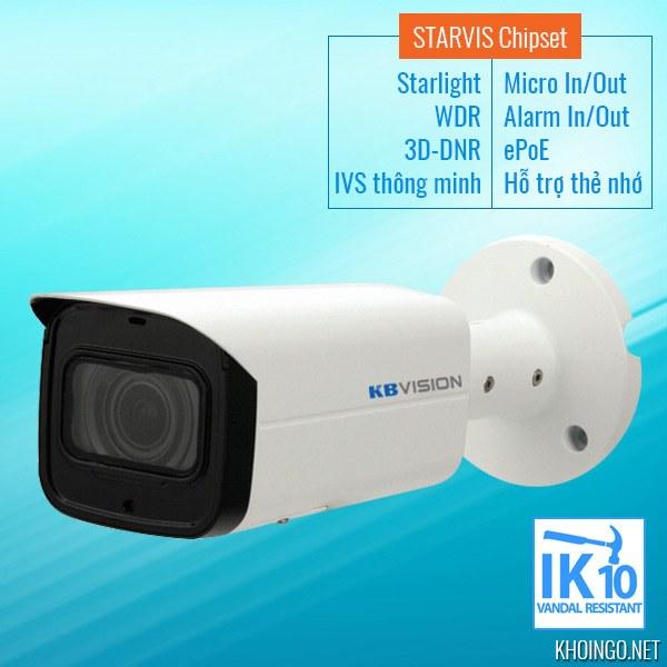 Gioi-thieu-Camera-IP-Starvis-KBVision-KX-2003iAN-2MP-Full-HD-Starlight-WDR_120dB-IVS-3D-DNR-Night-Breaker