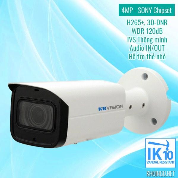 Mua camera IP KBVision KX-4005N2 4.0MP ở đâu giá rẻ tại HCM