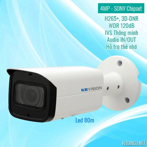 Nơi mua camera IP KBVision KX-4003iN 4MP ở đâu tại TPHCM