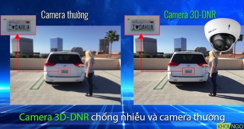 Phân biệt 3D-DNR trên IP Camera KX-4004iMN 4MP