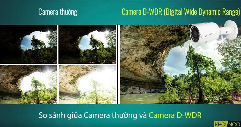 So sánh IP Camera KBVision KX-4011N2 4MP công nghệ D-WDR