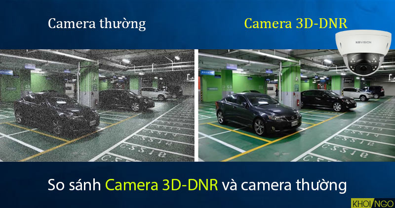 So sánh Camera IP KBVision KX-8002iN 8MP chuẩn 3D-DNR